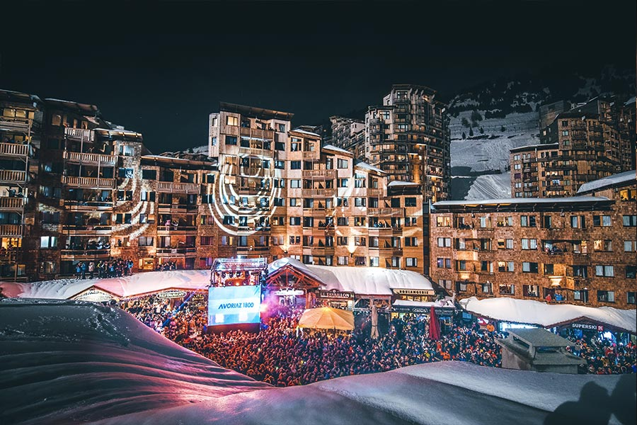 Christmas and New Year in Avoriaz