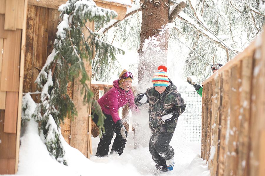 Avoriaz Family skiing